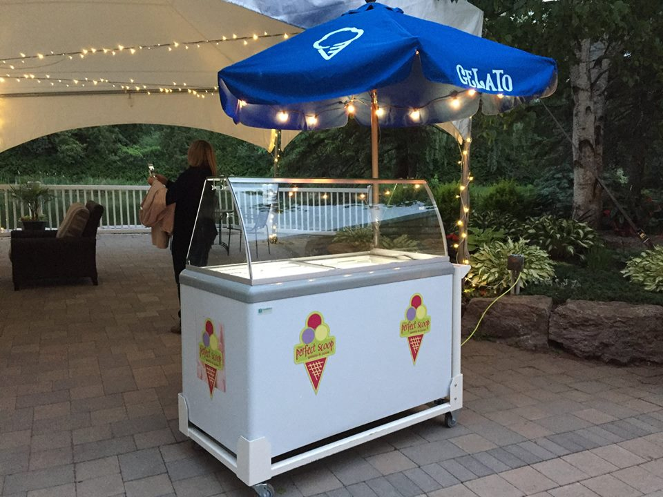 The Perfect Scoop Gelato Cart