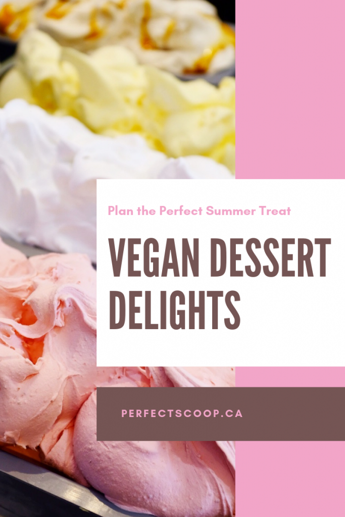 Vegan dessert delights for your event